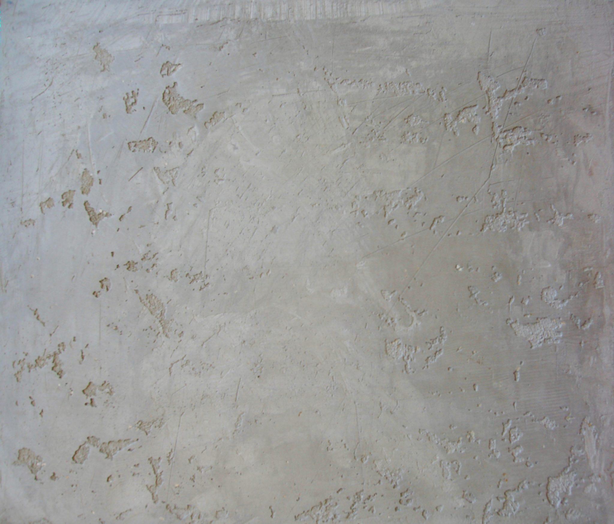 Eine Wand mit Betonoptik