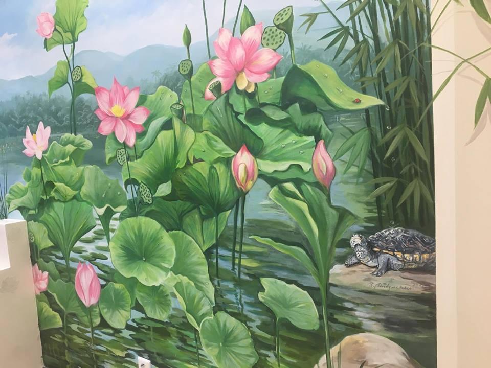 vietnamesische Landschaft